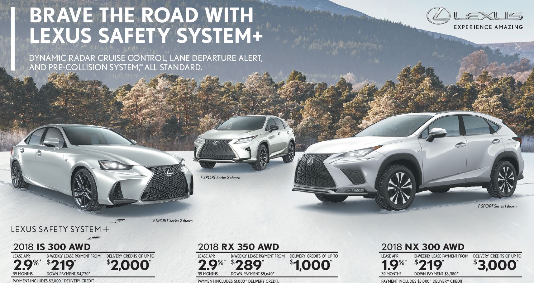 Lexus incentive February Ken Shaw Lexus