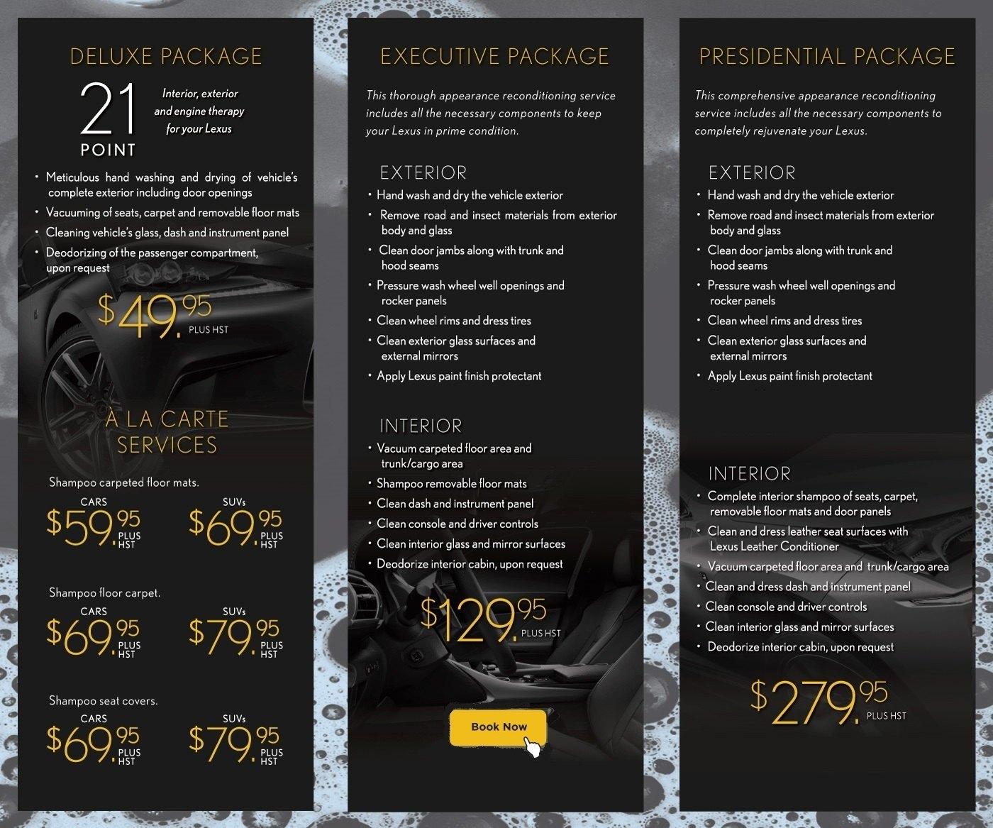 Lexus detailing edit