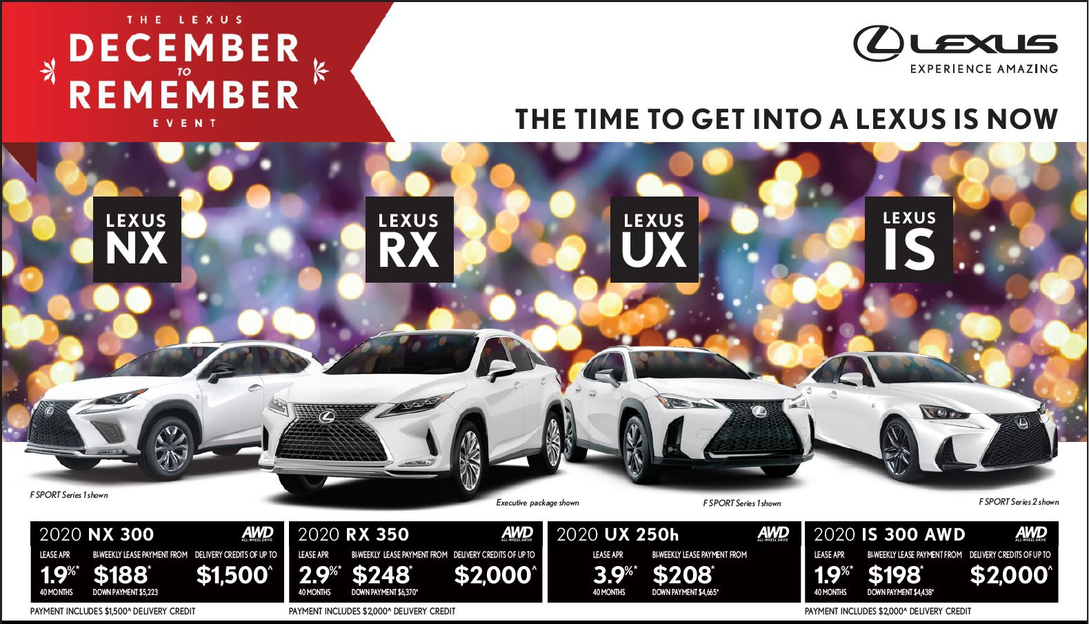 Lexus Lease Offers >> Lexus Specials At Ken Shaw Lexus Toronto Lexus Dealer On