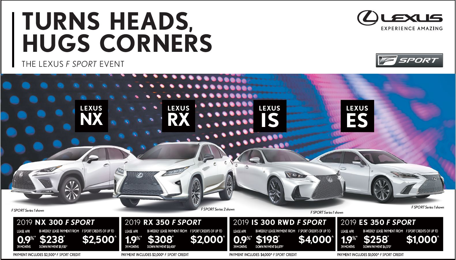 New Lexus sales promotion May 2019 at Ken Shaw Lexus Toronto