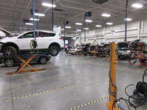 Ken Shaw Lexus Toyota body shop In Toronto