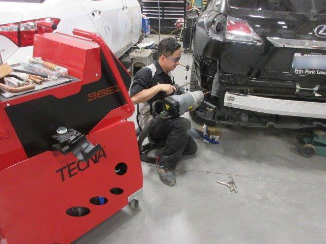 Ken Shaw Lexus Toyota Collision Centre In Toronto