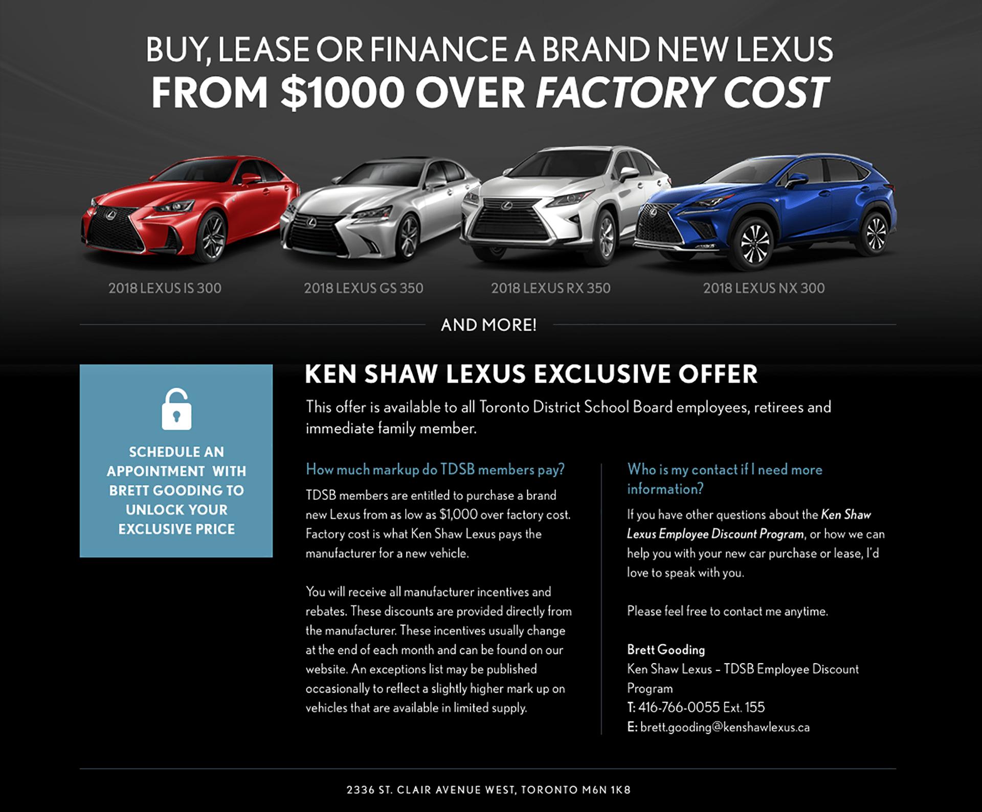 Lexus Offer