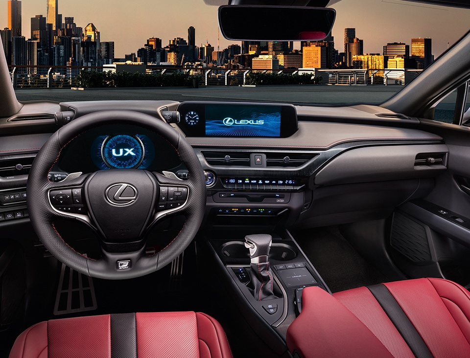 2019 Lexus UX Interior at Ken Shaw Lexus in Toronto