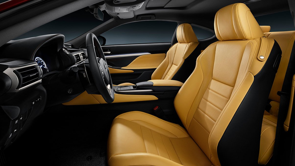 2018 Lexus RC Interior at Ken Shaw Lexus in Toronto