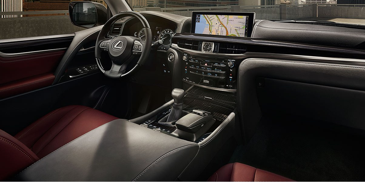2018 Lexus LX Interior at Ken Shaw Lexus in Toronto