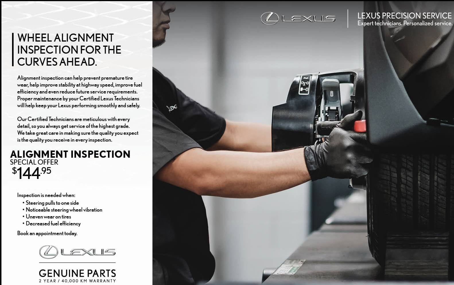 Lexus Four Wheel Alignment