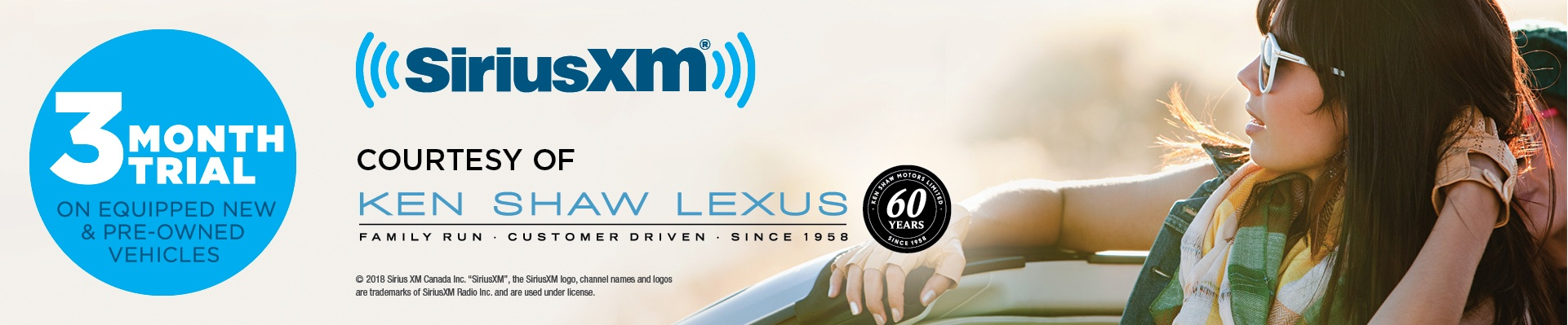 SiriusXM 3 Month Trial