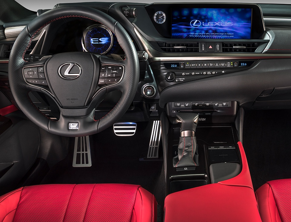 2019 Lexus ES Interior at Ken Shaw Lexus in Toronto