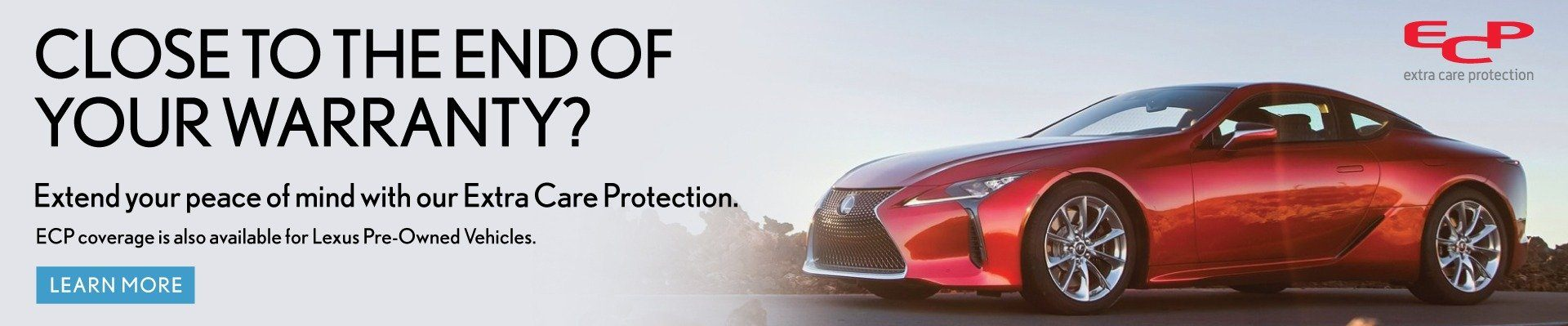 EXTEND EXTRA CARE PROTECTION  AT KEN SHAW LEXUS IN TORONTO ONTARIO
