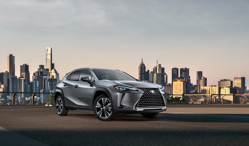 Lexus UX in the City