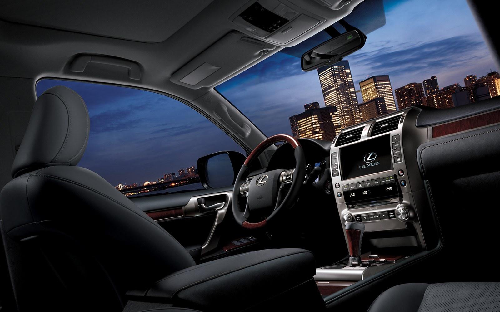 2019 Lexus GX Interior at Ken Shaw Lexus in Toronto