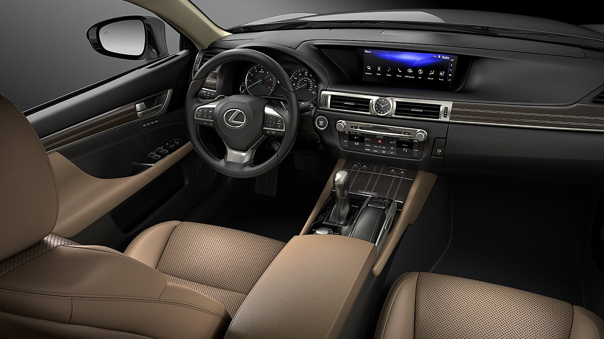 2019 Lexus GS Interior at Ken Shaw Lexus in Toronto