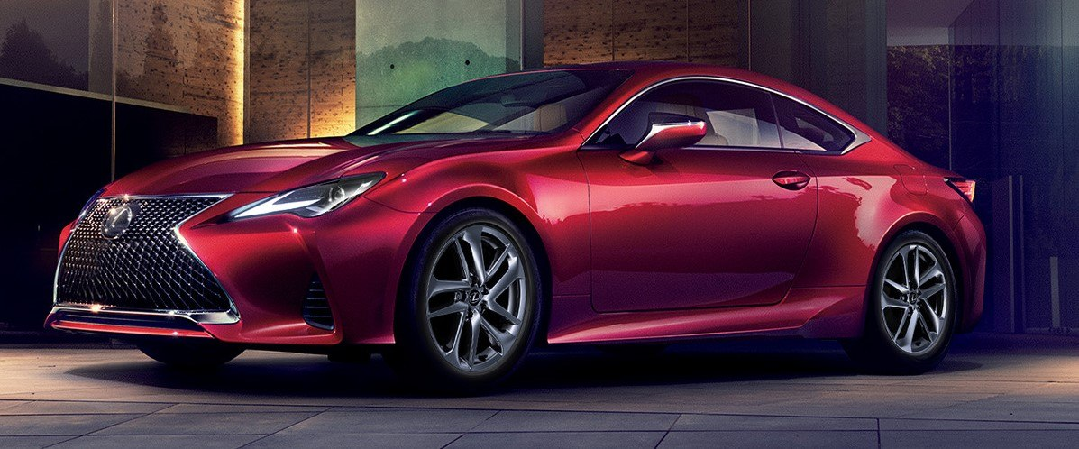 2019 Lexus RC Exterior at Ken Shaw Lexus in Toronto