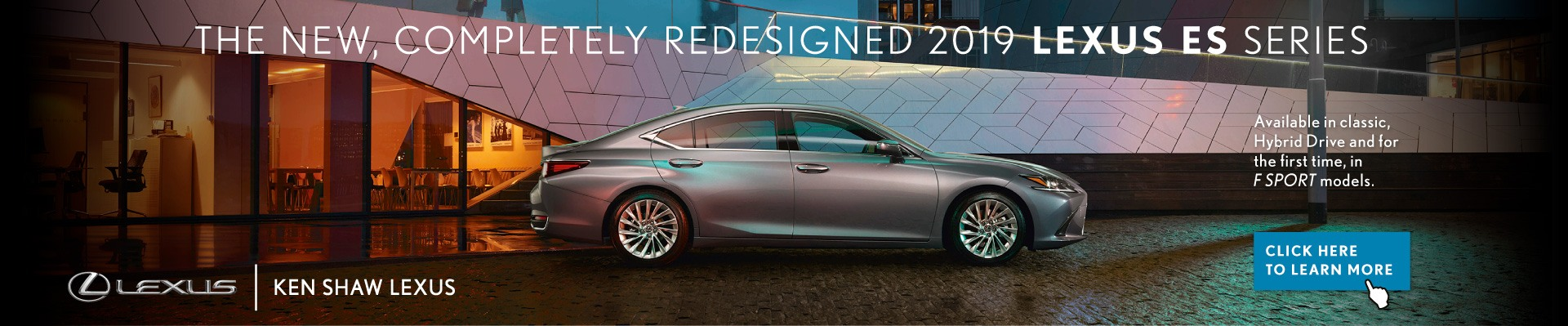 NEW 2019 LEXUS ES Offer AT KEN SHAW LEXUS IN TORONTO ONTARIO