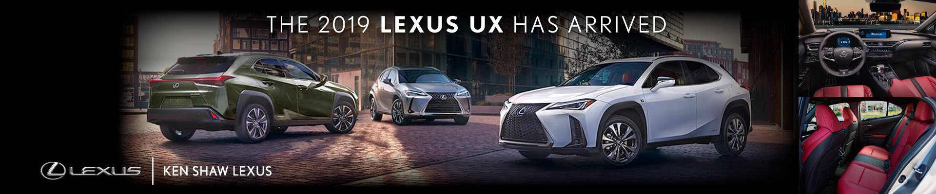 NEW 2019 LEXUS UX Offer AT KEN SHAW LEXUS IN TORONTO ONTARIO