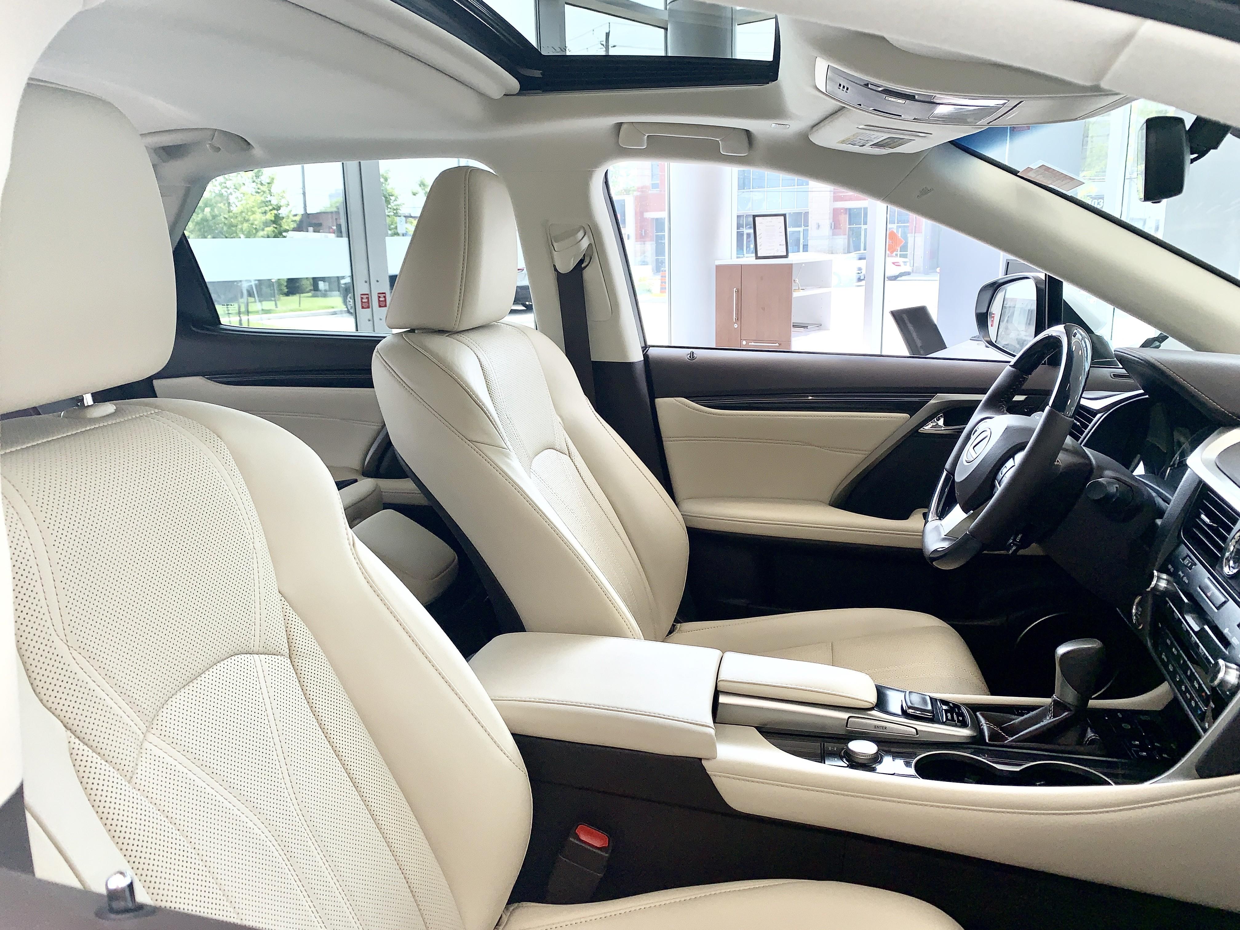 2020 Lexus RX Interior at Ken Shaw Lexus in Toronto
