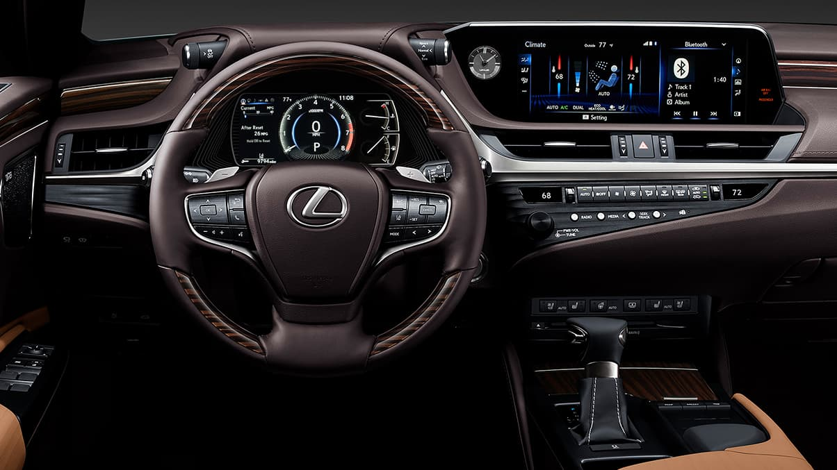 2020 Lexus ES Interior at Ken Shaw Lexus in Toronto
