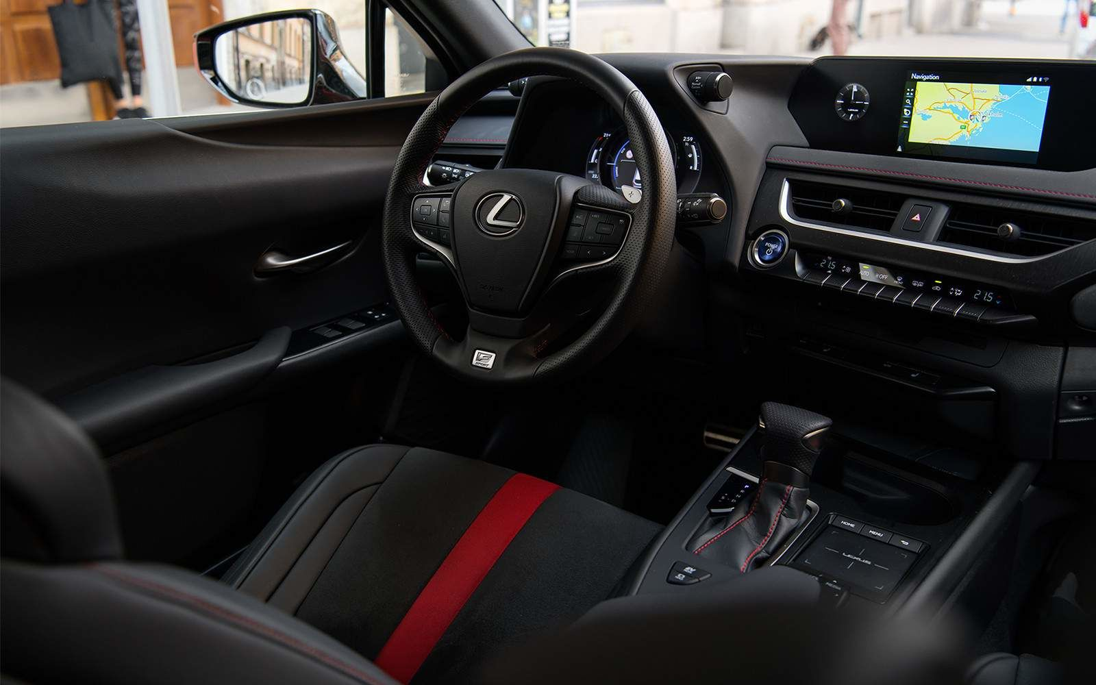 2020 Lexus UX Interior at Ken Shaw Lexus in Toronto