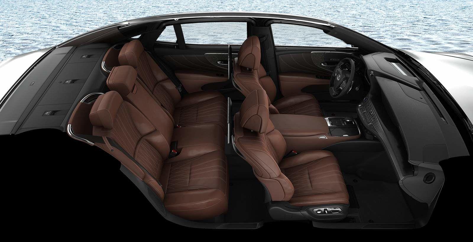 2020 Lexus LS Interior at Ken Shaw Lexus in Toronto