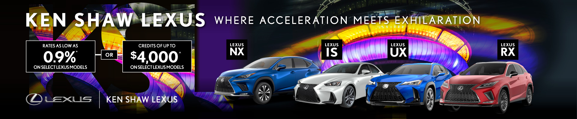 Ken Shaw Lexus offers, promotions, lease and finance, in Toronto, Ontario, GTA