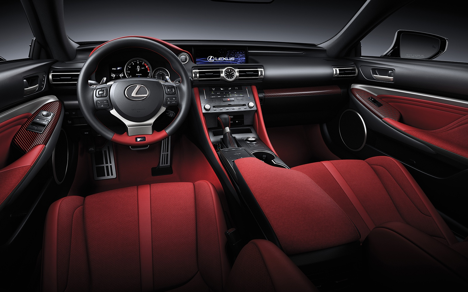 2020 Lexus RC Interior at Ken Shaw Lexus in Toronto