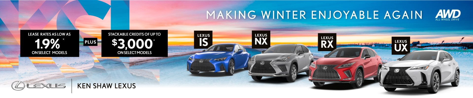 Lexus promotions and offers at Ken Shaw Lexus in Toronto, Ontario Lexus dealership
