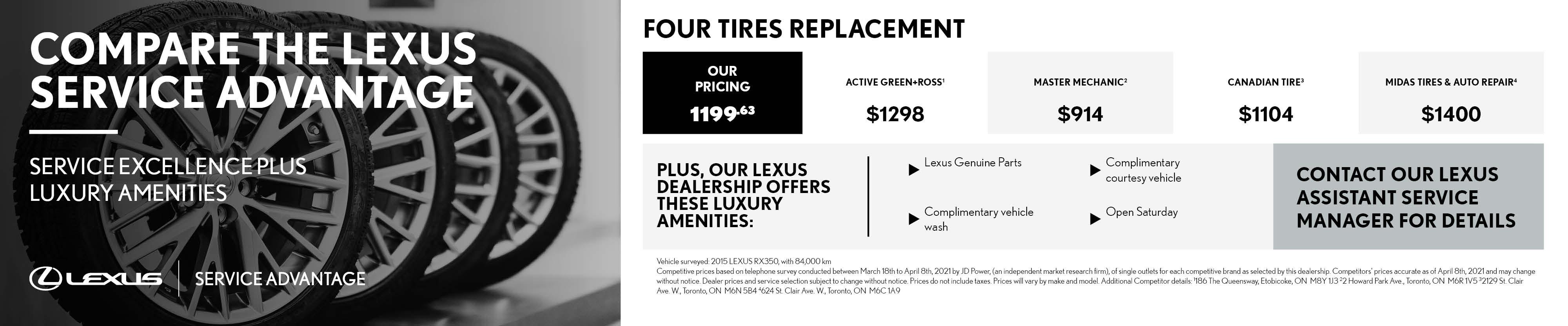 Ken Shaw Lexus certified technicians repair in toronto ontario